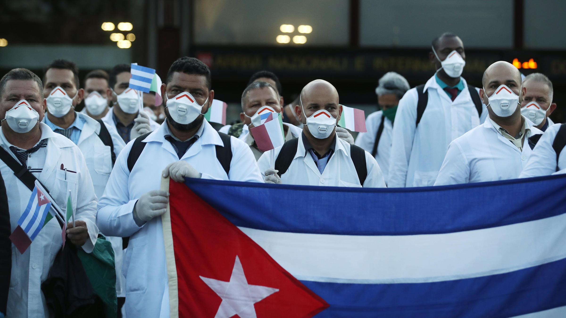 Cuba, a humanidade e o coronavírus
