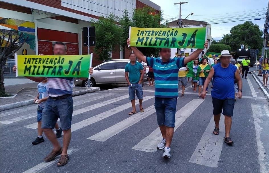 Manifestação pró-Bolsonaro foi um fracasso em Patos