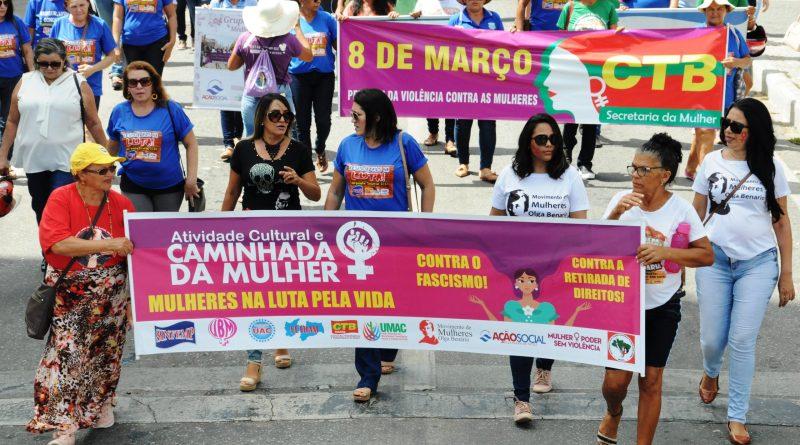 Dia Internacional da Mulher tem caminhada emocionante pelas ruas de Patos – Veja fotos!