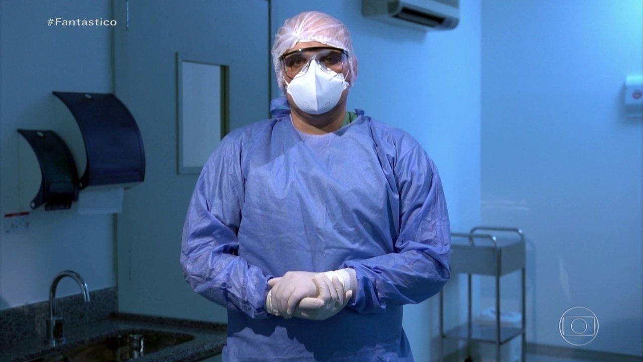 Profissionais de saúde relatam falta de equipamentos de proteção; denúncias passam de 4 mil