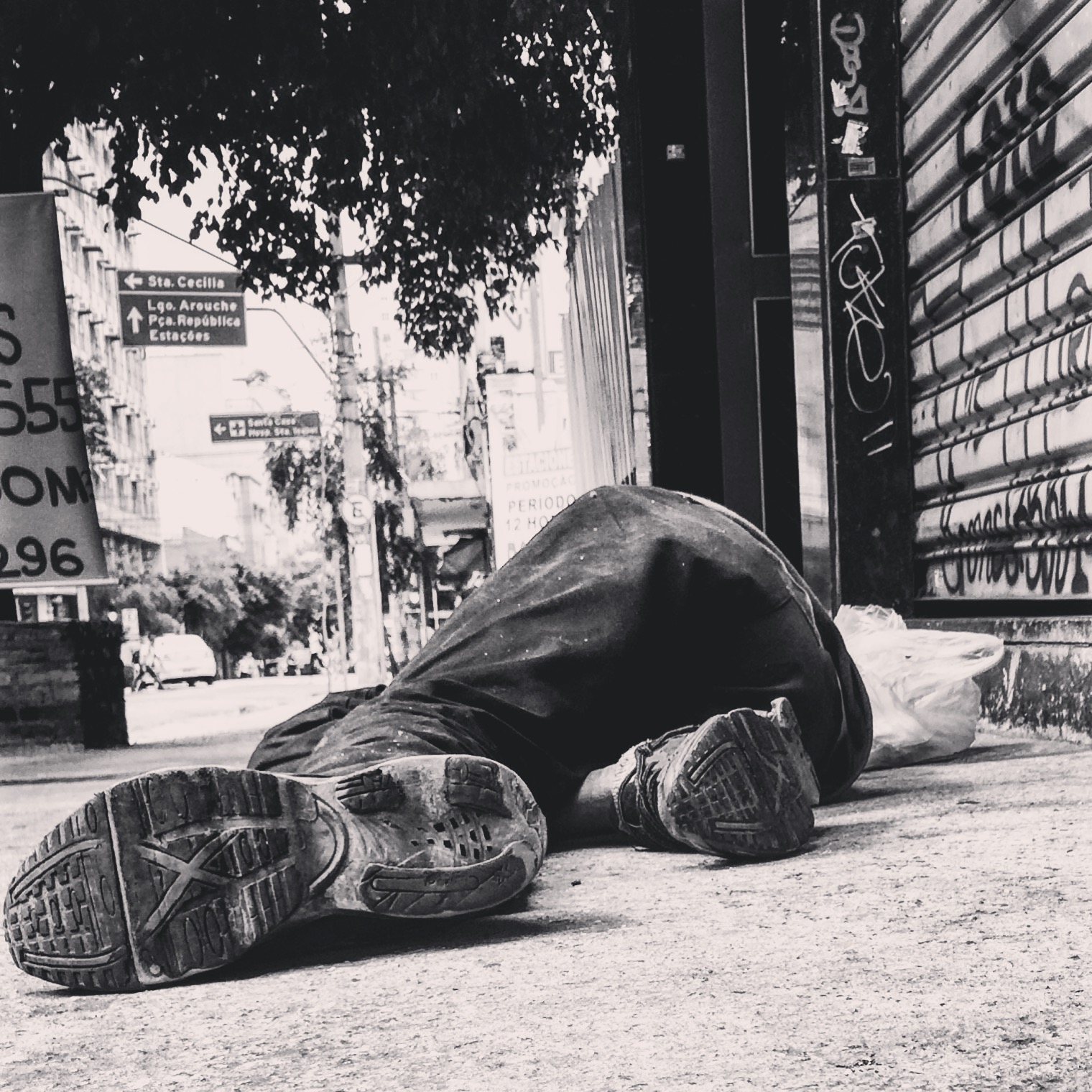 A população em situação de rua precisa de atendimento e solidariedade