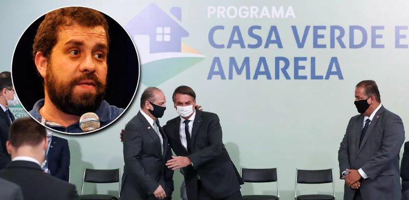 """Boulos: """"Casa Verde e Amarela de Bolsonaro é pior que o BNH da ditadura"""""""