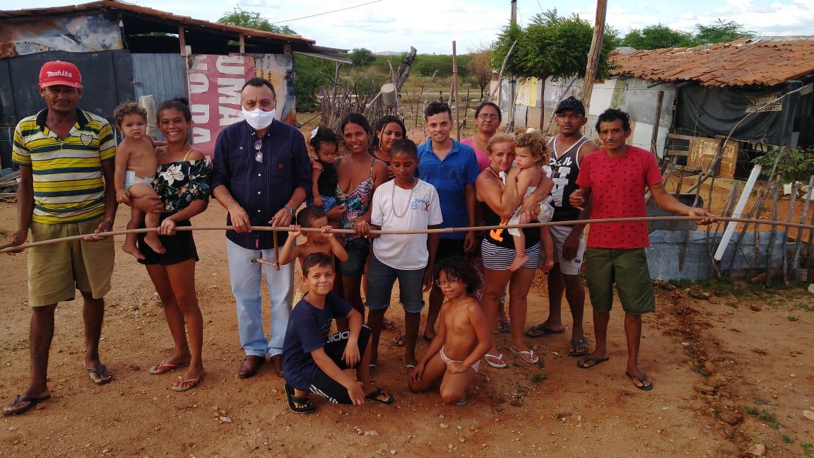 Vereador eleito Zé Gonçalves denuncia corte de água dos sem tetos em Patos