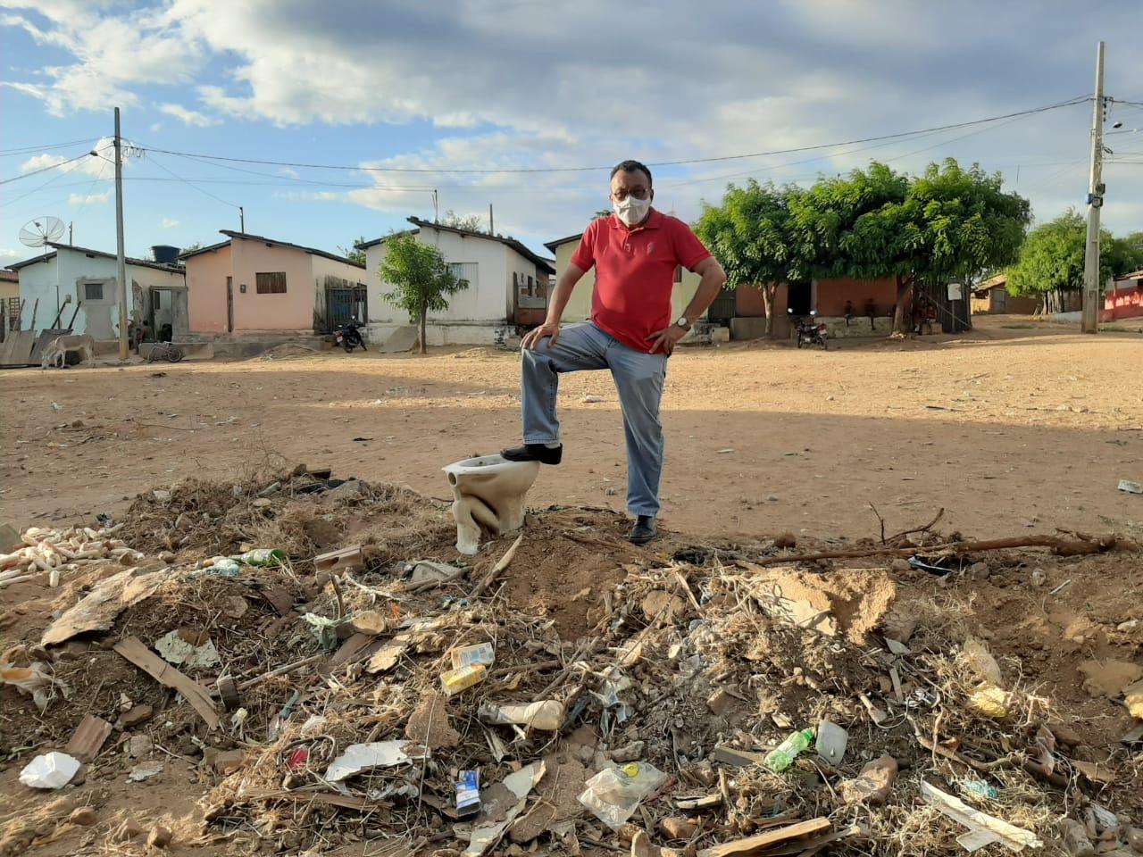 Vereador Zé Gonçalves afirma que Bairros estão abandonados em Patos