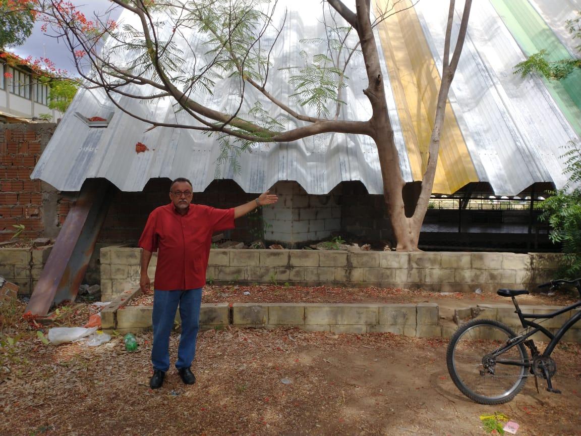 Vereador Zé Gonçalves defende que a Prefeitura de Patos assuma o CAIC no Bairro do Morro