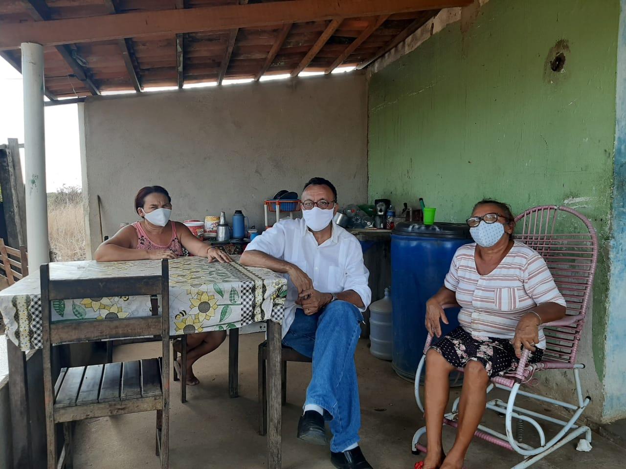 Vereador Zé Gonçalves (PT), confirma que Zona Rural está às escuras