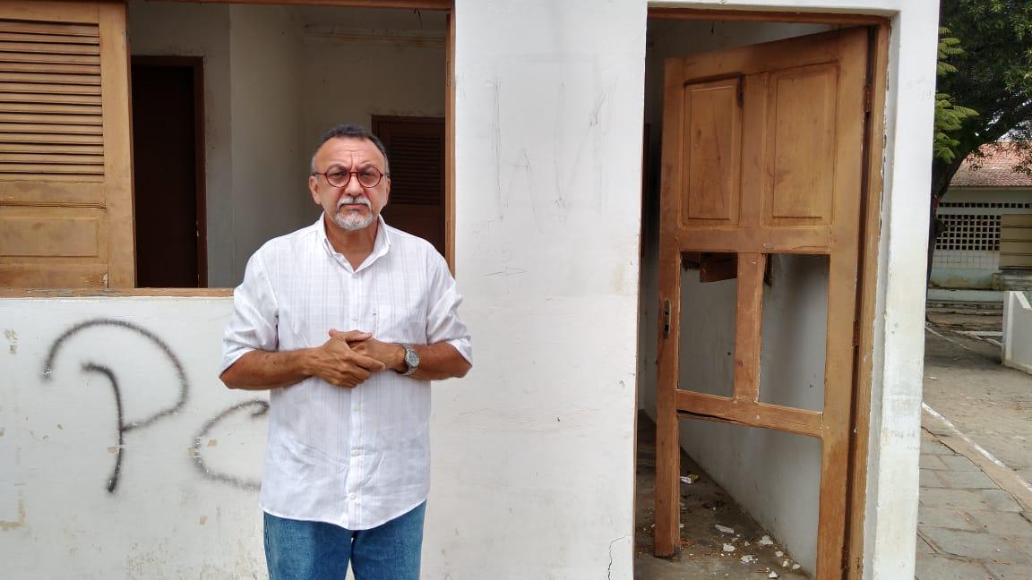 Vereador Zé Gonçalves defende reativação do Posto de Apoio Comunitário no Bairro do Jatobá