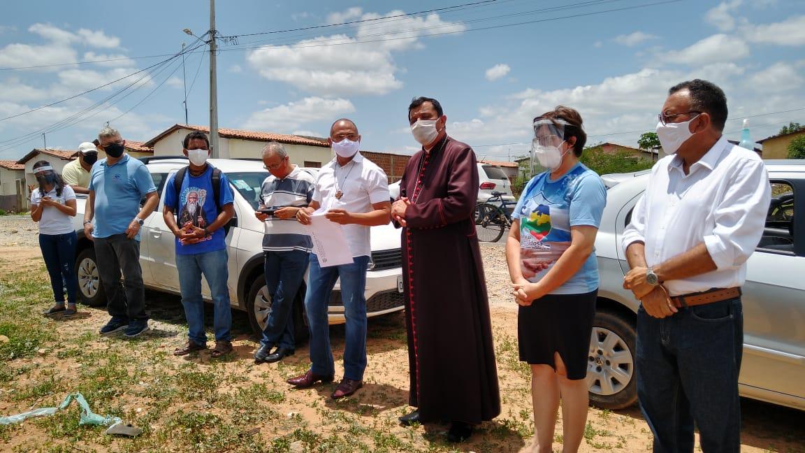 Apoio do Bispo Dom Eraldo, fortalece a luta dos sem teto em Patos. Afirma vereador Zé Gonçalves.