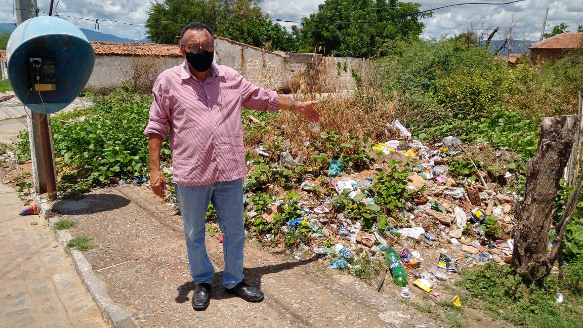 Vereador Zé Gonçalves defende ação imediata da Prefeitura no Conjunto Nova Conquista (Mutirão) em Patos