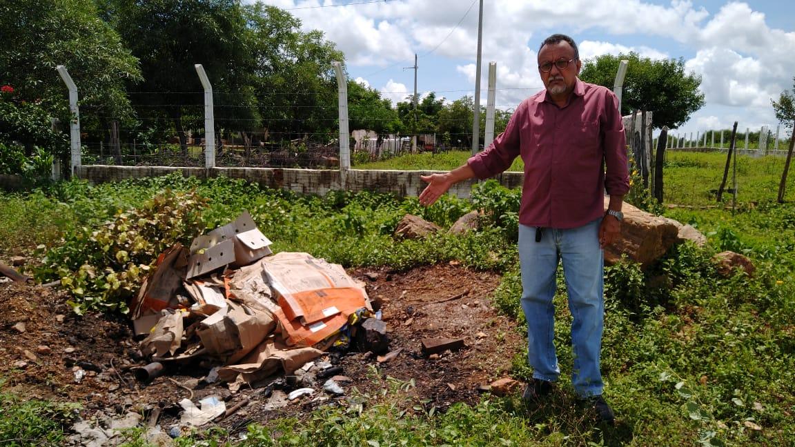 Vereador Zé Gonçalves quer obra do Mocambo de Baixo concluída.