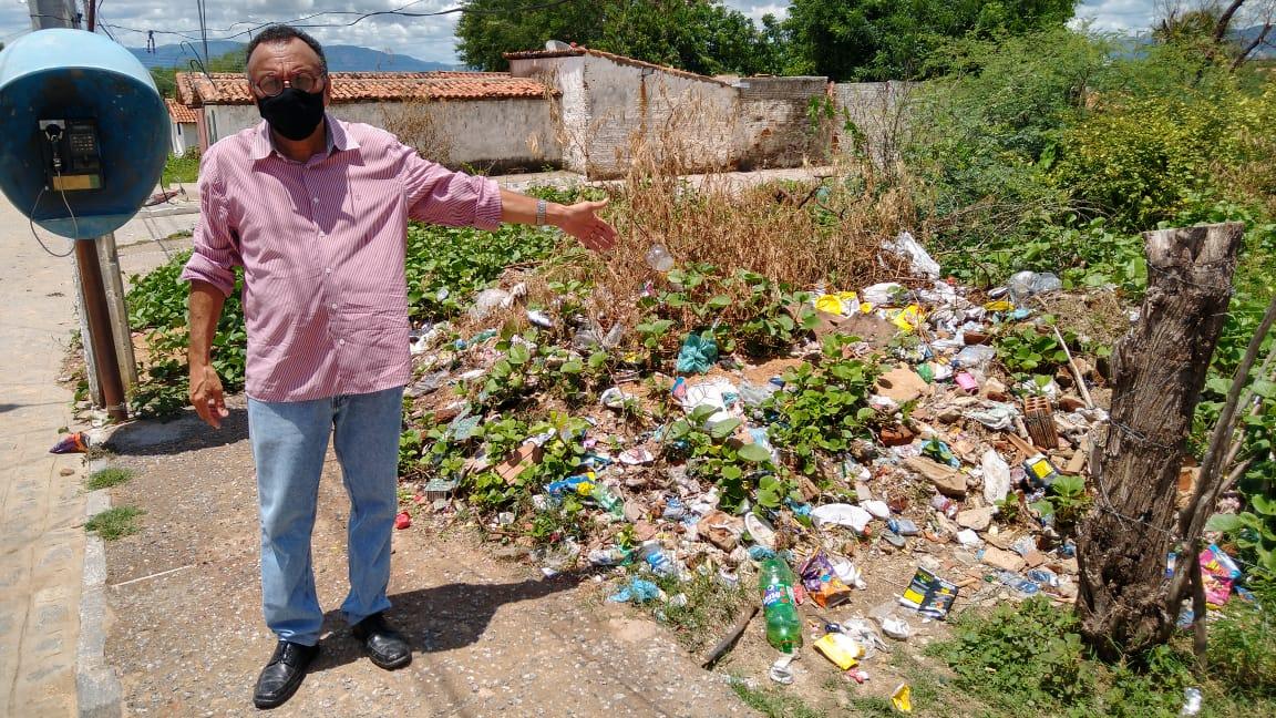 Alto da Tubiba: um bairro abandonado pelos gestores municipais. Diz o vereador Zé Gonçalves
