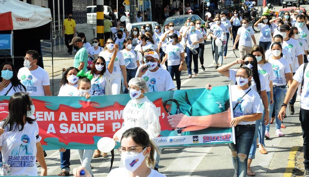 Zé Gonçalves defende PL 2564/2020 do piso nacional da enfermagem