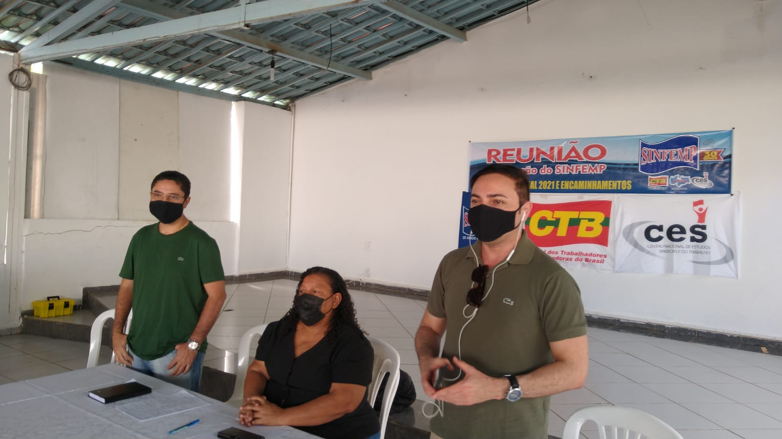 Servidores Públicos Municipais de Patos e Região paralisam atividades dia 4 de agosto. Diz Carminha Soares presidente do SINFEMP.