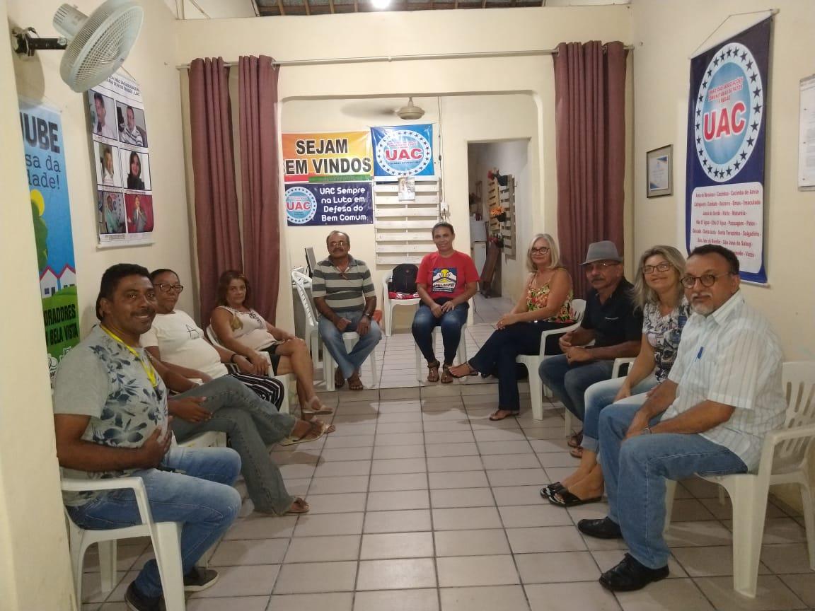 Reunião da Moradia em Patos