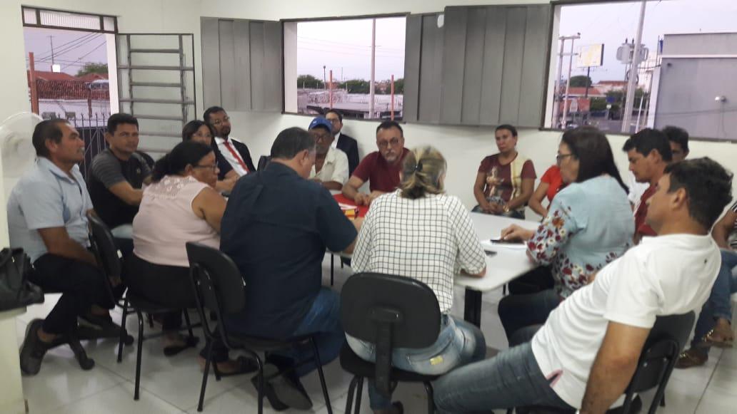 Direção do PCdoB de Patos se reúne e discute projeto eleitoral para 2020