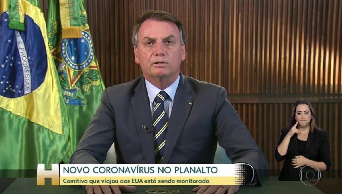 Primeiro exame de Bolsonaro teria testado positivo para coronavírus