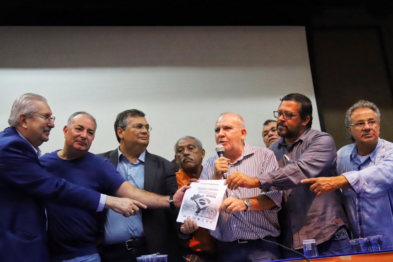Flavio Dino defende Unicidade Sindical e diz que sindicalismo é importante para o Brasil