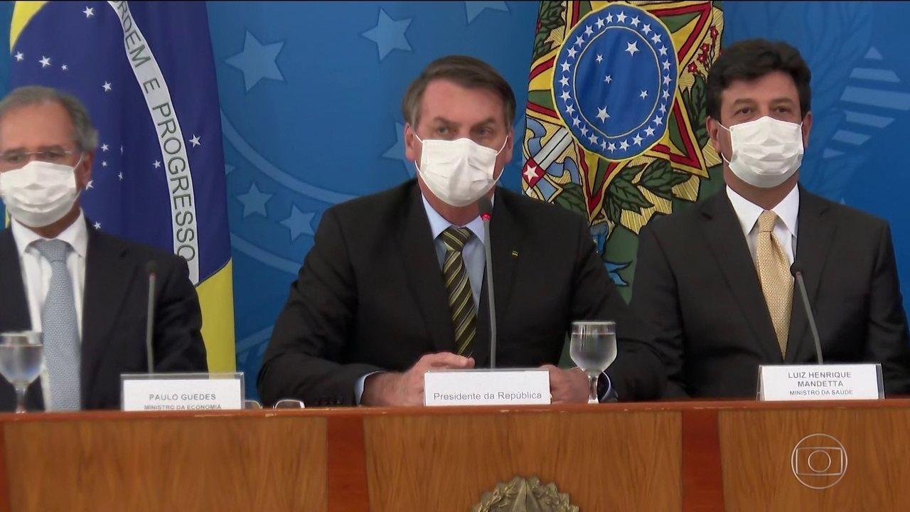 Bolsonaro tem aprovação de 33% e reprovação de 39% na gestão da crise do coronavírus, diz Datafolha
