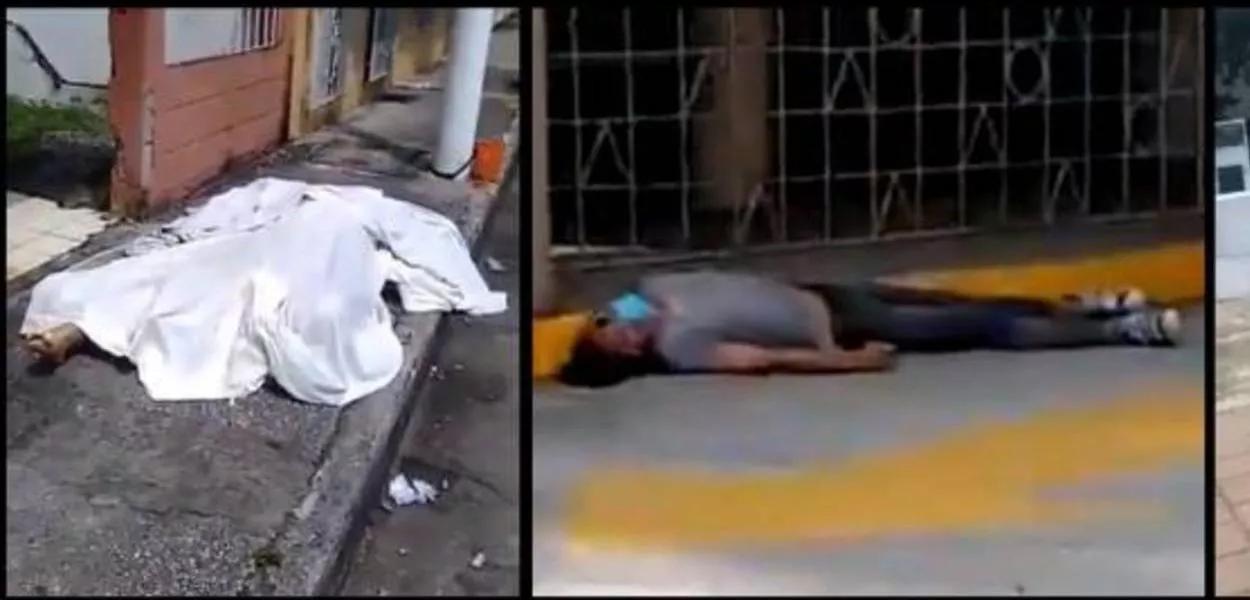 Cadáveres de vítimas do coronavírus são abandonados nas ruas do Equador