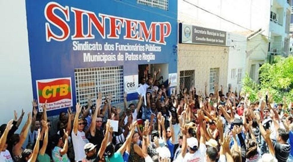 SINFEMP contesta fala de pré candidatos a prefeito e vereadora em Patos sobre suspensão das aulas