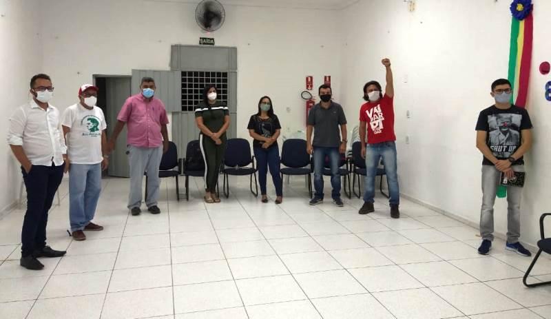 PT, PSOL e UP avaliam situação política e querem fortalecer o campo popular e democrático na cidade de Patos