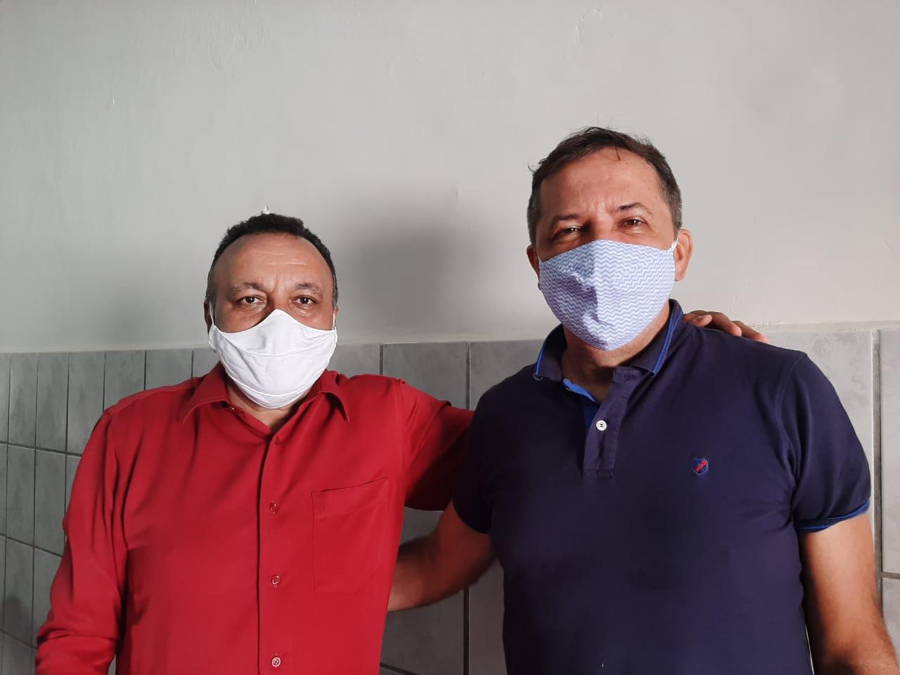 Prefeito de Foz do Iguaçu visita vereador eleito Zé Gonçalves