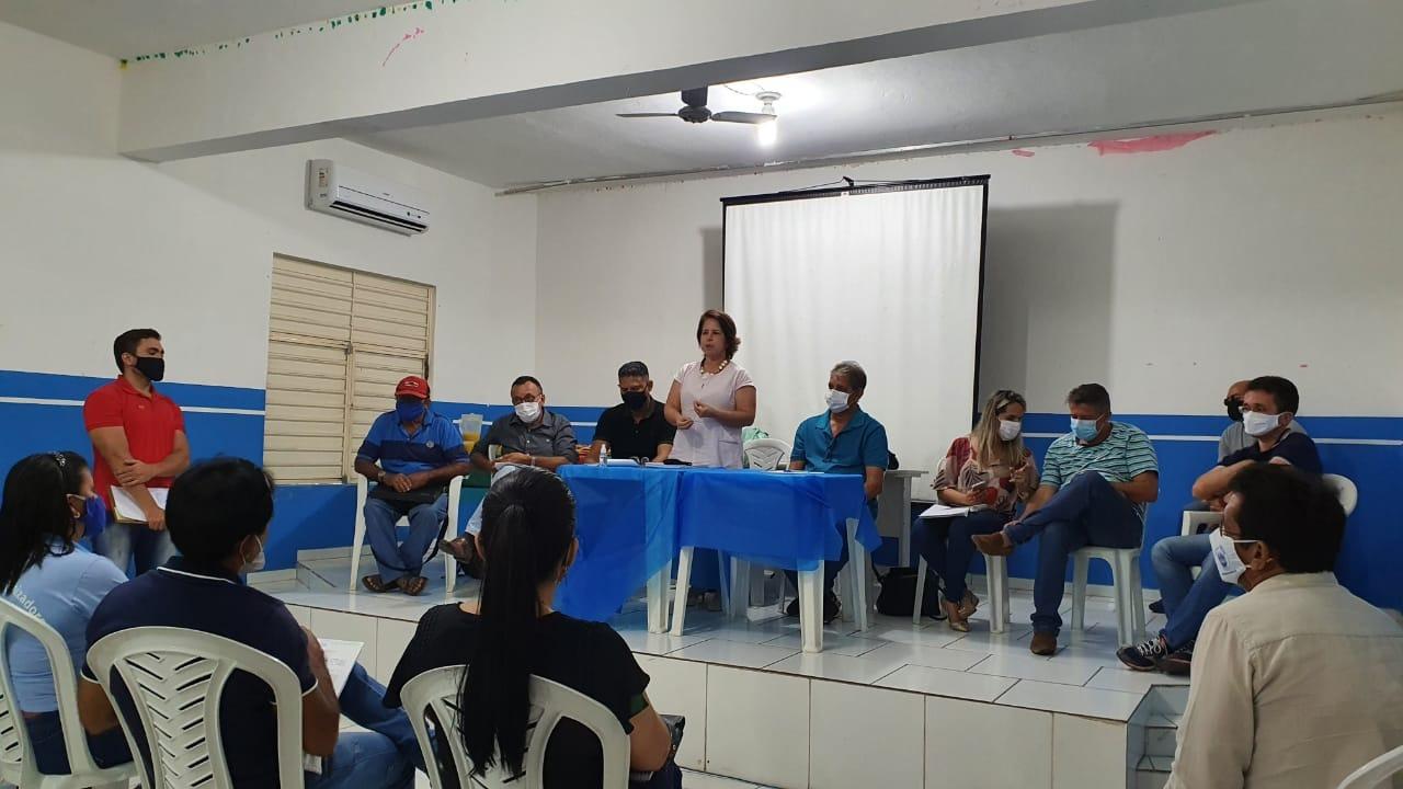 Secretaria de Desenvolvimento Social realiza reunião com associações rurais e urbanas