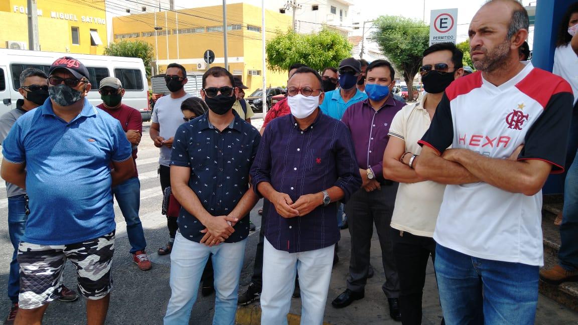 Cooperativa dos Taxistas é recebida no Ministério Público Estadual