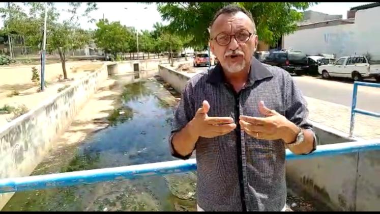 Vereador Zé Gonçalves diz que Canal do Frango precisa de uma ação urgente