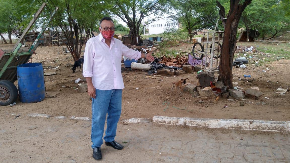 Vereador Zé Gonçalves defende melhorias no Bairro das Sete Casas