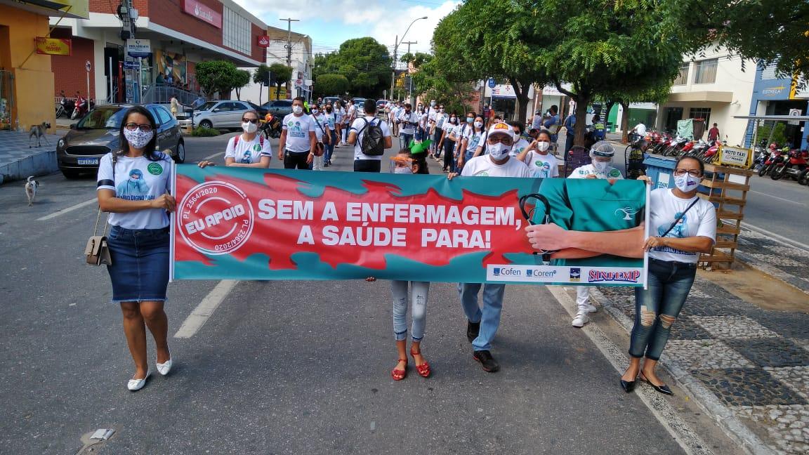 Zé Gonçalves diz que é obrigação apoiar a luta da enfermagem pelo piso nacional.