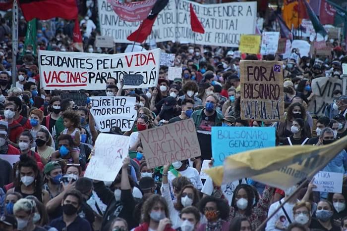 Movimentos antecipam atos #ForaBolsonaro para 3 de julho.