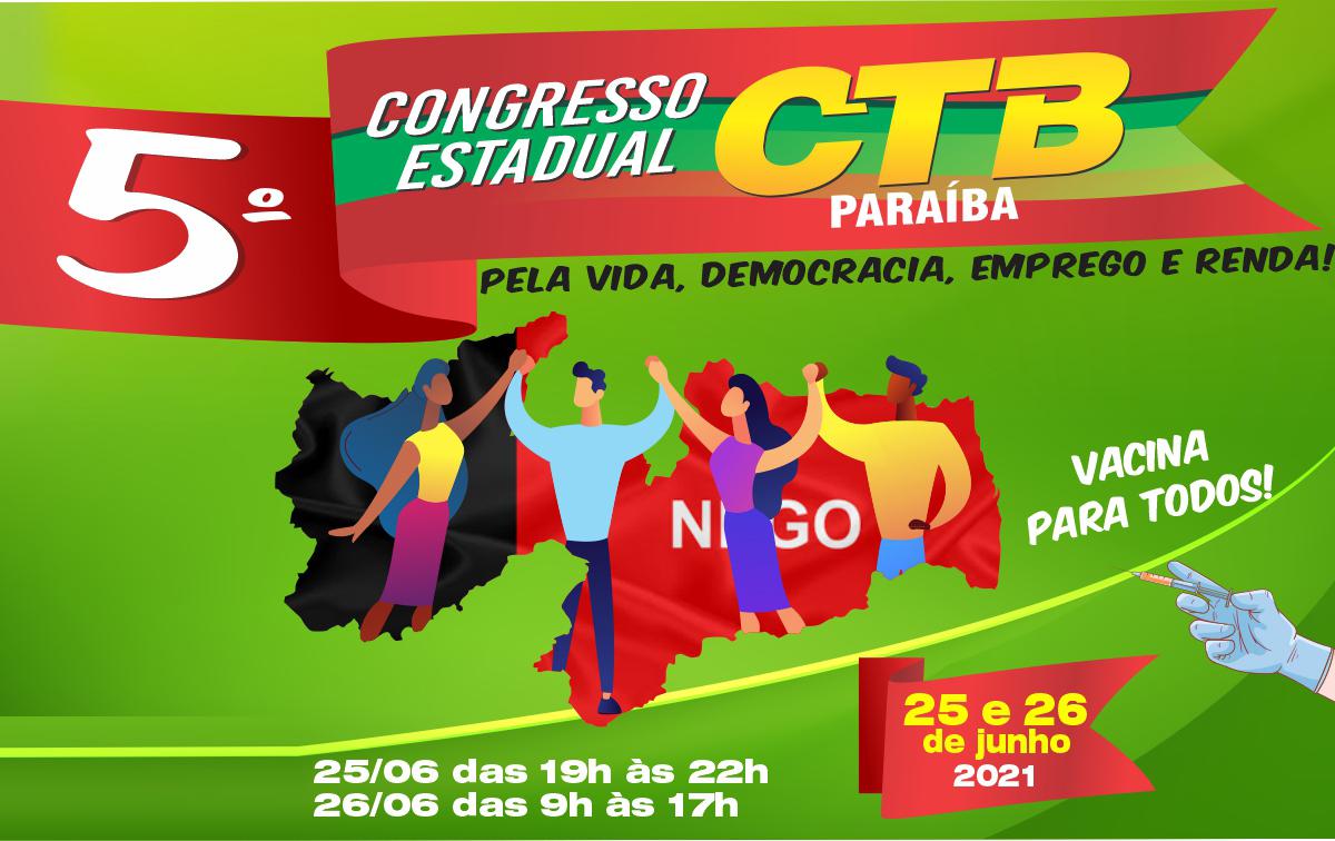 CTB Paraíba nos preparativos finais para realização de seu 5° Congresso Estadual