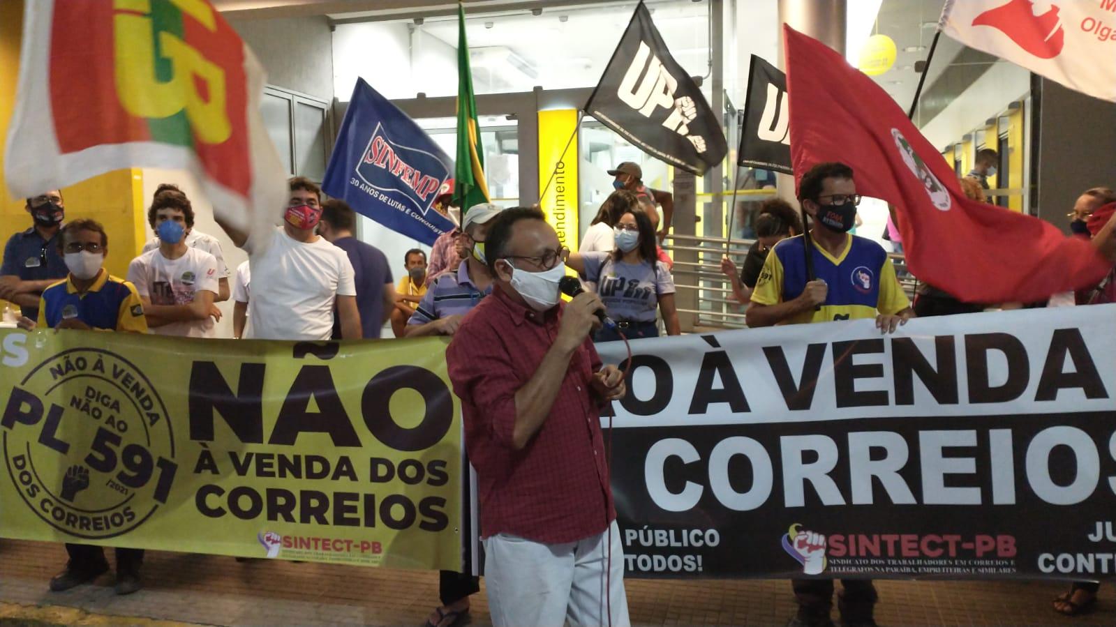 Zé Gonçalves diz em mobilização contra a PEC 32  da Reforma Administrativa que povo precisa ir às ruas para barrar Bolsonaro