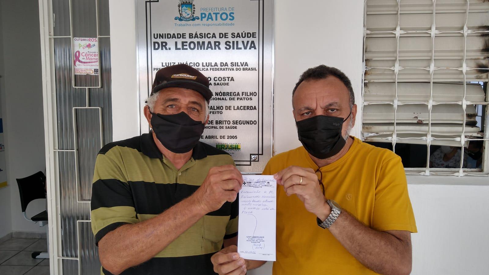 Vereador Zé Gonçalves diz que médicos não estão cumprindo as 40 horas nas UBS em Patos