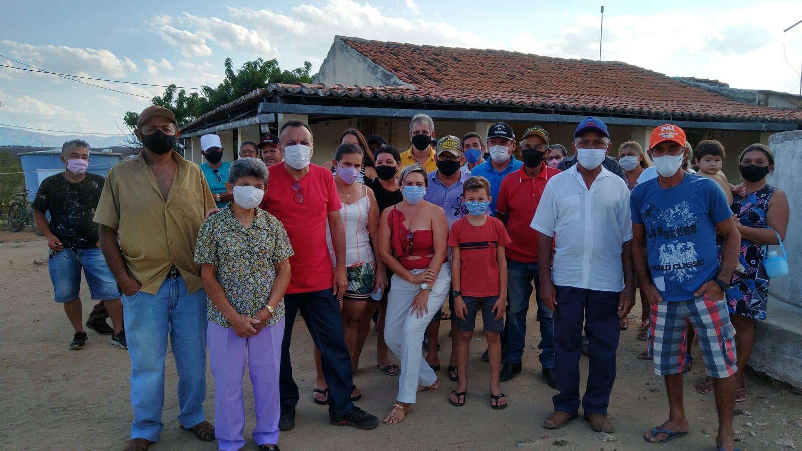 Vereador Zé Gonçalves participa de reunião da Associação de Lagoa de Açude em Patos